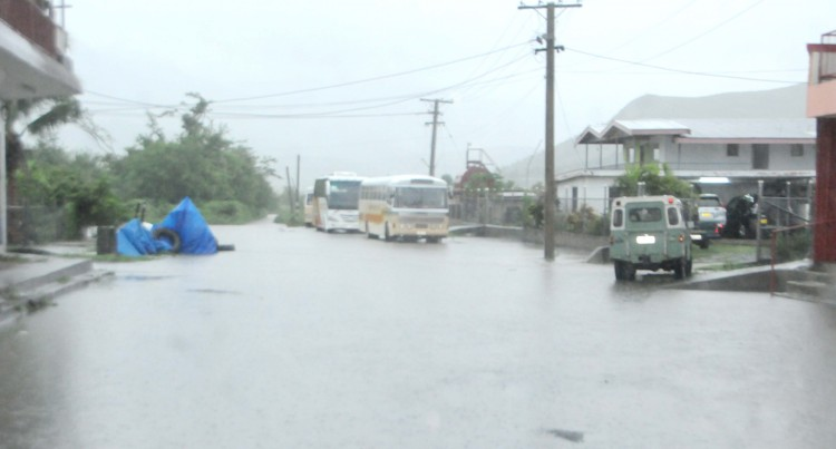 Floodwaters Force Closure Of Town