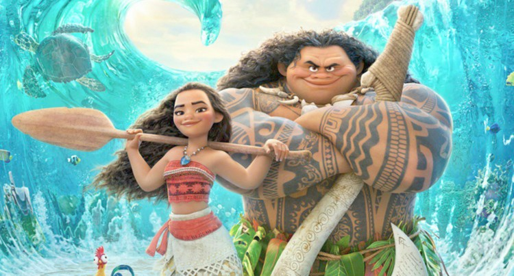Central  Division  Tops 'Moana' Ticket Sales Since Premier