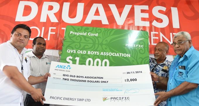 $3K For Druavesi Tourney