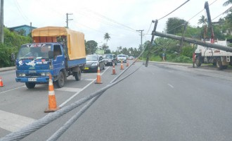 Broken or Low Sagging Power Lines