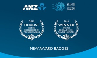 New Award Badges For ANZ Fiji Excellence In Tourism Winners, Finalists