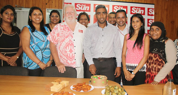 Raiyaz Ahmed Joins The Fiji Sun Team