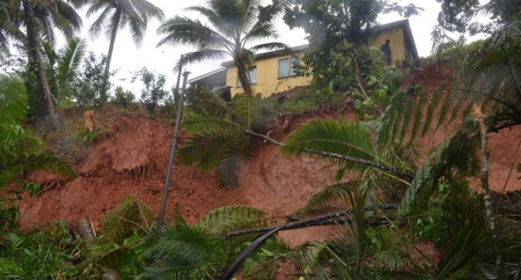 Landslide Shatters Wedding Plans, House Near Danger