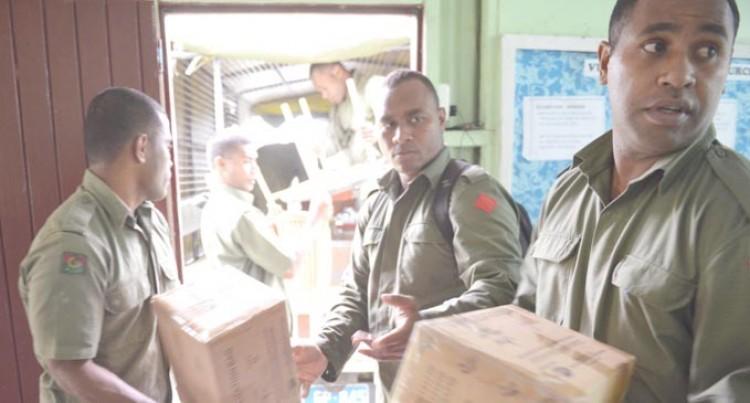 RFMF Evacuate  Nausori Health Centre