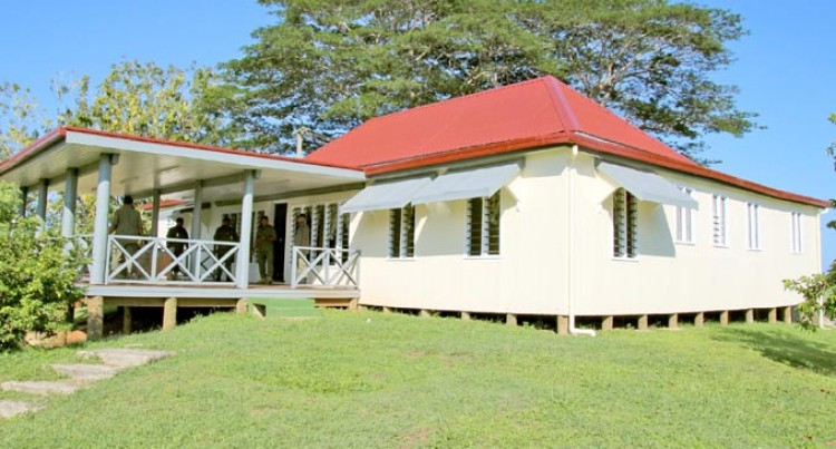New Mess Halls Open In Labasa