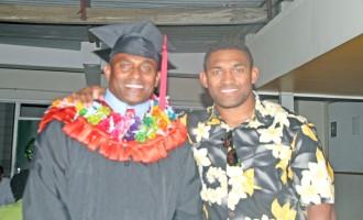 All Black Son Surprises Dad at Graduation