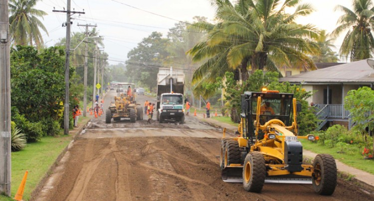 Labasa Town Roads Repaired