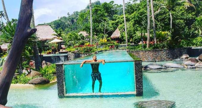 Famous Hollywood singer and actor, Ludacris stayed at Laucala Island Resort with his wife recently.