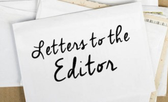 Letters To The Editor, 3rd, Febuary, 2016