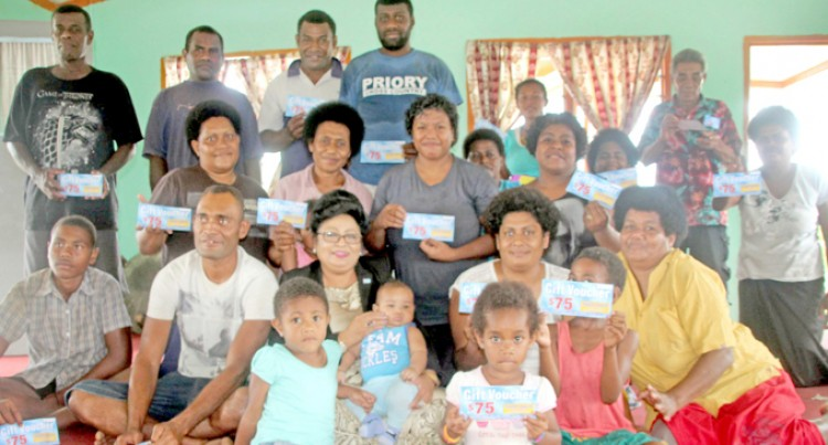 20 Families Receive Food Vouchers