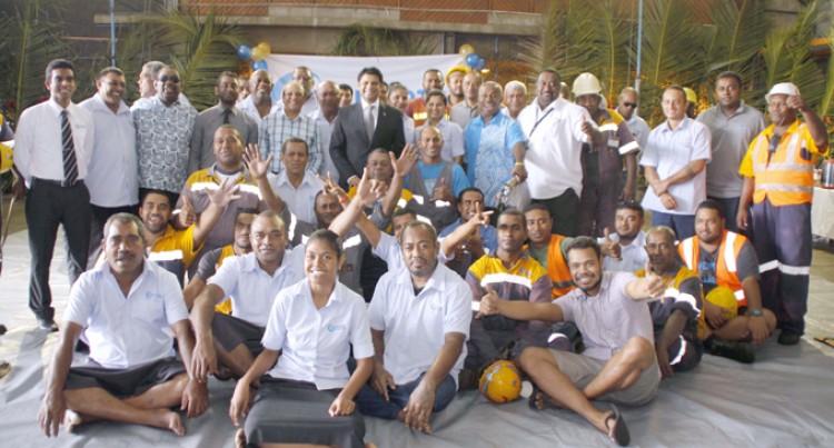 A-G Announces $284K  Second Bonus Payout For Fiji Ports Terminal Staff