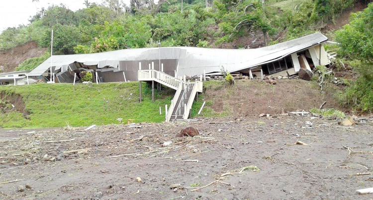 Landslide Sweeps Dreketi Village