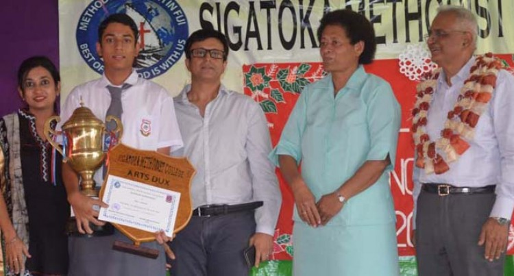 Father Of Sigatoka Methodist Dux Humbled By Son's Success
