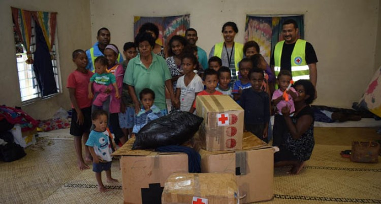 Red Cross Society Bring Relief To Victims Of TD04F
