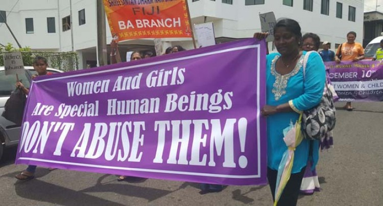 March For Awareness For Violence Against Women
