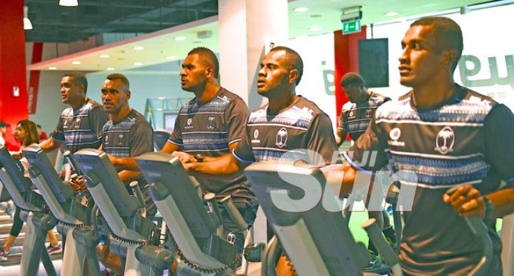 Our Champs Warm Up For Dubai Kickoff
