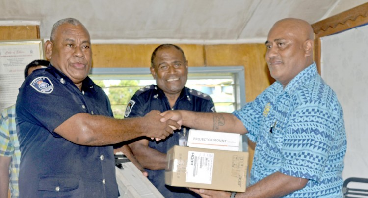 Telecom Helps Out Sabeto Police