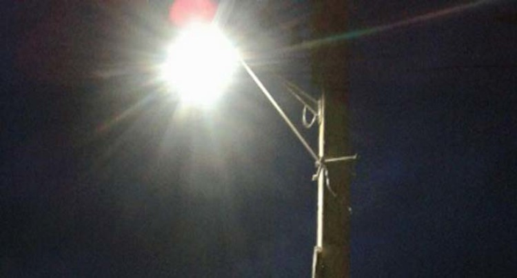 Streetlights At Levuka Improve Safety