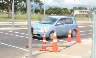 Damage To Traffic Light, Costly, Says Hutchinson