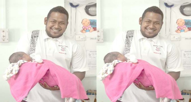 Kubulau Farmer Excited With Daughter's Birth