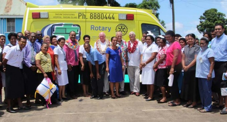 New Wheels For Waiyevo Hospital
