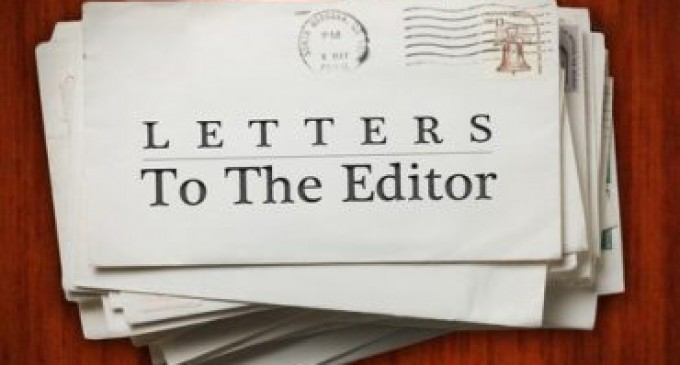 Letters To The Editor, 19th, May, 2018
