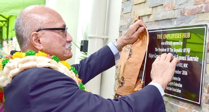 President Konrote Opens $2.7 Million  Employers Hub