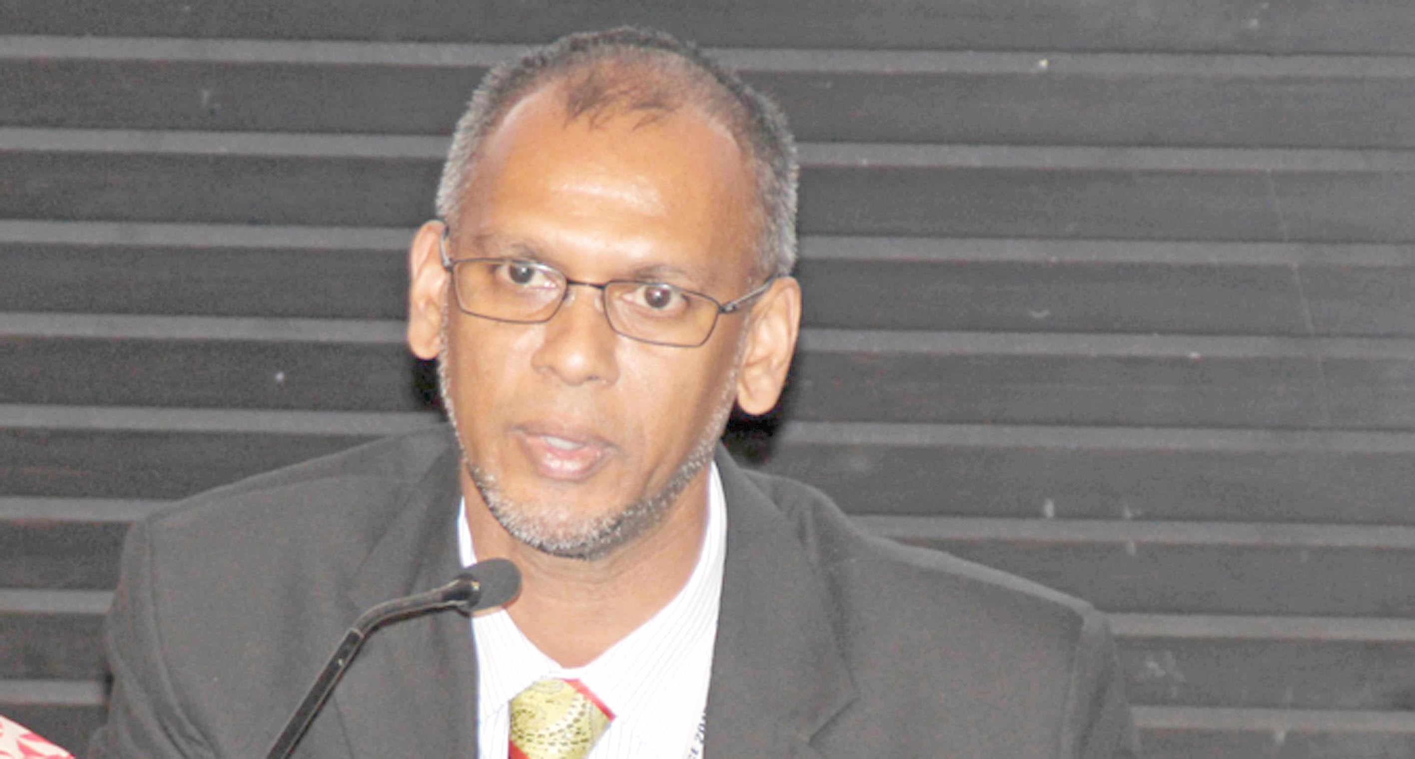 Fiji Intelligence Unit director Razim Buksh