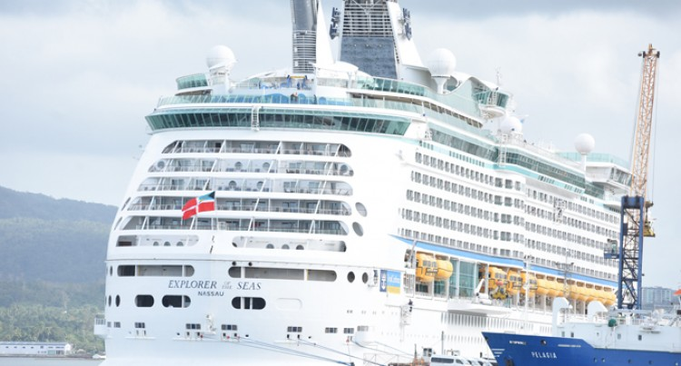 Cruise Liner  Brings In 3850