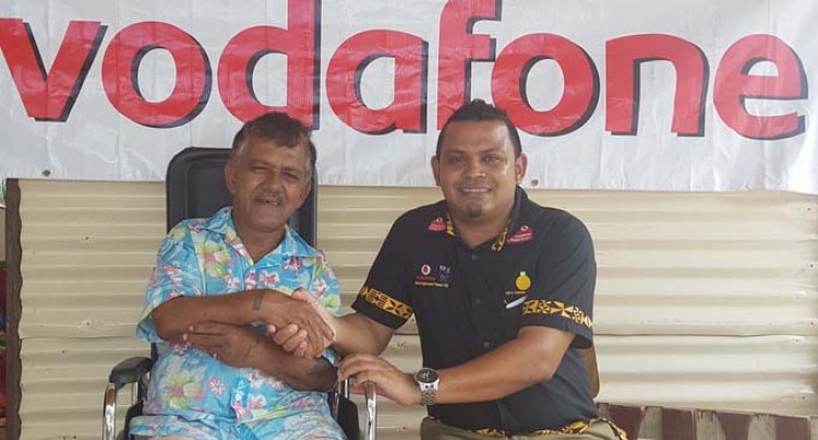 Vodafone,  Rotary Club Donates Wheelchair
