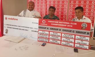 Vodafone Boosts Club Championship