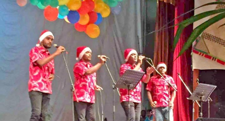 Boy Band Waikatakata Vure Launches 7th And 8th Albums In Labasa