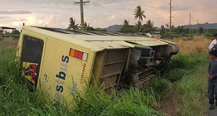 Westbus Plunges Into Ditch, Passenger In Hospital