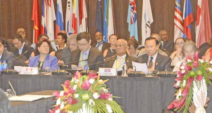 Fiji Pushes Resolution On Climate Change