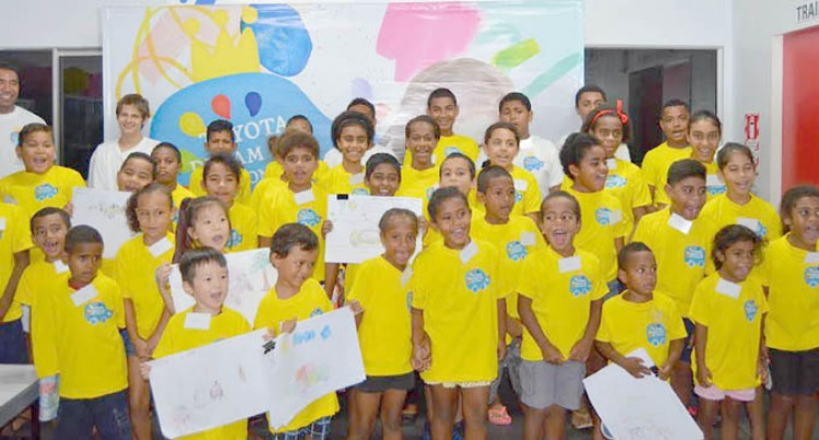 Asco Motors Toyota Hosts 2016 Toyota Dream Car Art Contest Camp