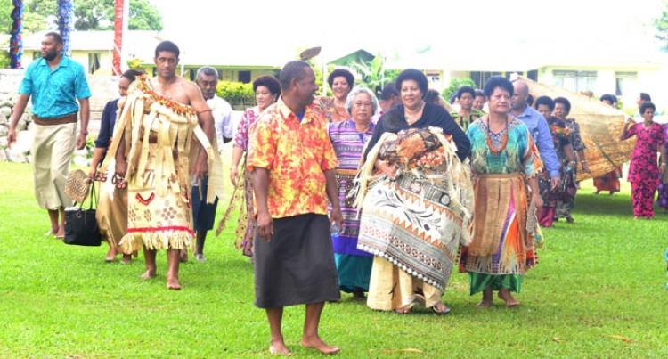 Taboo Lifted,  Traditonal  Protocols Followed by Chiefly Family  On Bau Island