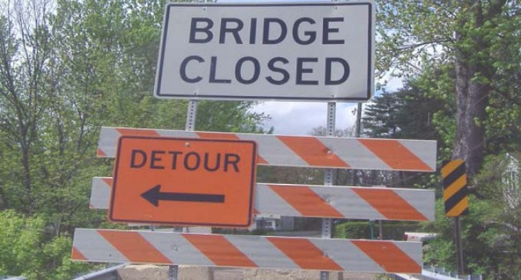 Koronubu Bridges In Ba Closed Today From 8am