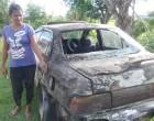 Car Set Alight Beside Home as Mother, Daughter Sleep