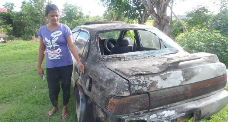 Car Set Alight Beside Home as Mother, Daughter Sleep