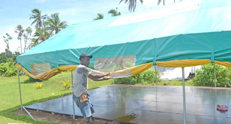 Kubulau District Students Will Continue Learning In Tents