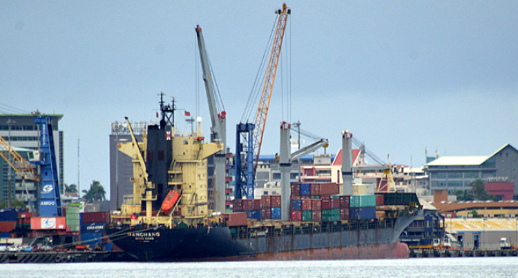CARGOES Unloaded AT  SUVA PORT