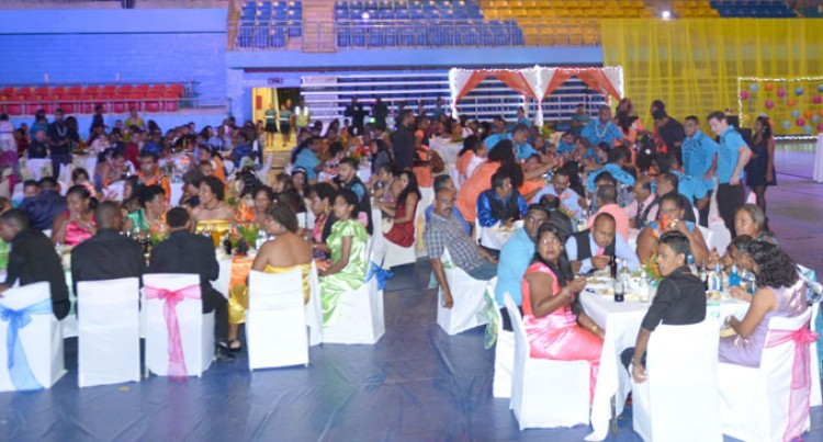 Workers Celebrate At Awards  Night