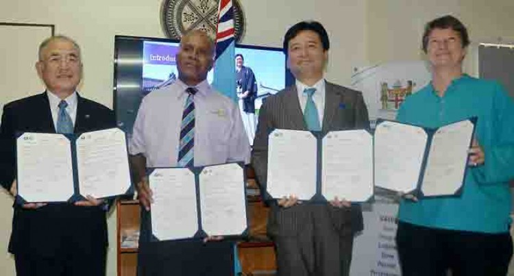 Japan MOU To Benefit Fijian Sports