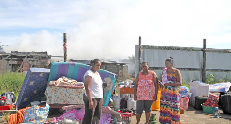 Fire Leaves 3 Families Homeless