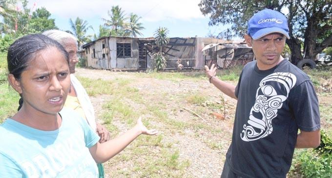 Nadera Family Loses Home In Morning Blaze