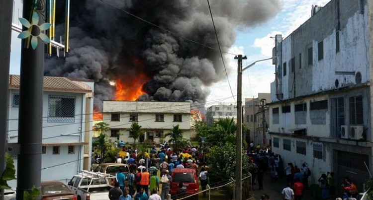 6 Employees Receiving Treatment For Smoke Inhalation At Jack's Nadi Fire
