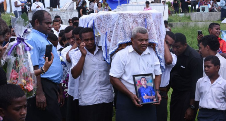 Friends, Family Bid Final Farewell To 16-Year-Old