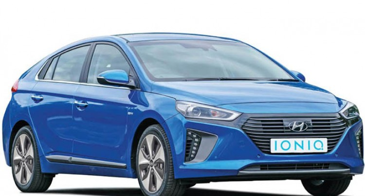 Hyundai Showcases IONIQ at Detroit International Auto Show