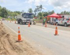 Officials Monitor New Detour