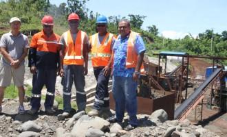 $18 Million Stone Crushing Plant Begins Operation